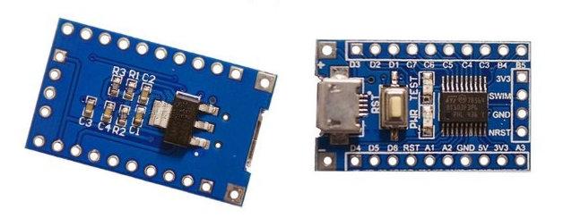 STM8 board Image